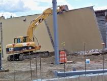 Skowhegan Walmart demolition