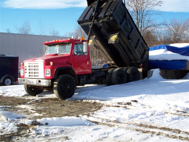 Dump Truck 12 Yard Eagle Rental Commercial
