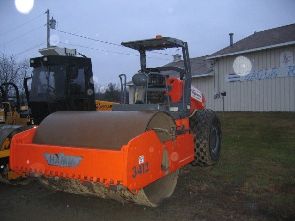 Vibratory Roller - 12 Ton Dirt