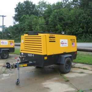 375 CFM Air Compressor