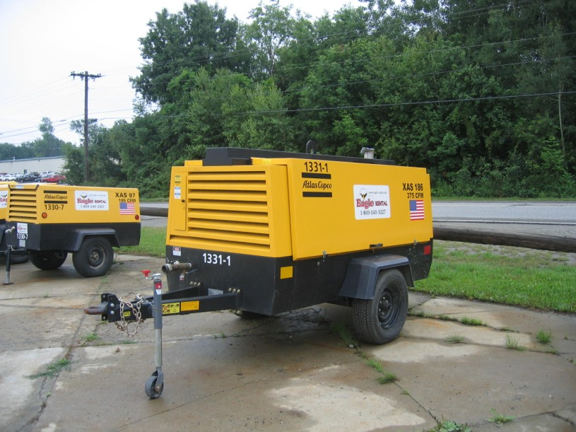 375 Cfm Compressor Diesel Eagle Rental Commercial