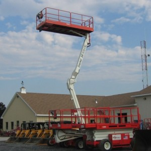 30 ft. Self Leveling Scissor Lift