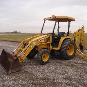 Front End Loader/Backhoe - 8,000 lb