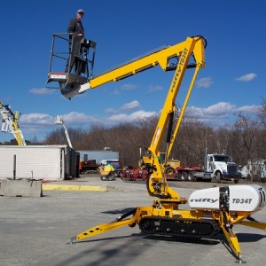 Boom Lift - 40' Self-Propelled Track
