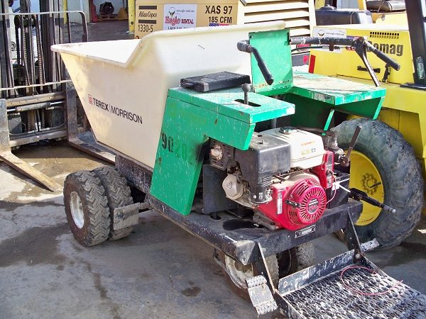 Concrete Power Buggie - Dual Front Wheel - Eagle Rental
