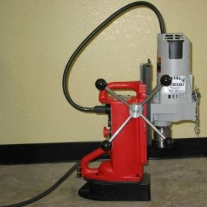 "Magnetic Base Drill - 3/4"" Chuck"