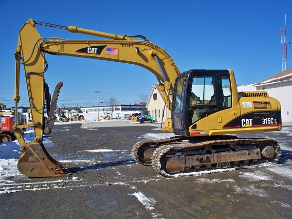 Excavator - 315/140/160 - 38,000 lb - w/ Hydraulic Thumb