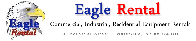 Eagle Rental – Commercial, Industrial, Residential Equipment Rentals – Waterville, ME 04901