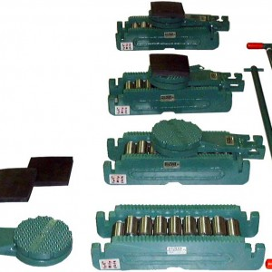 Equipment-Moving Roller - (Set of 4) - 100 Ton