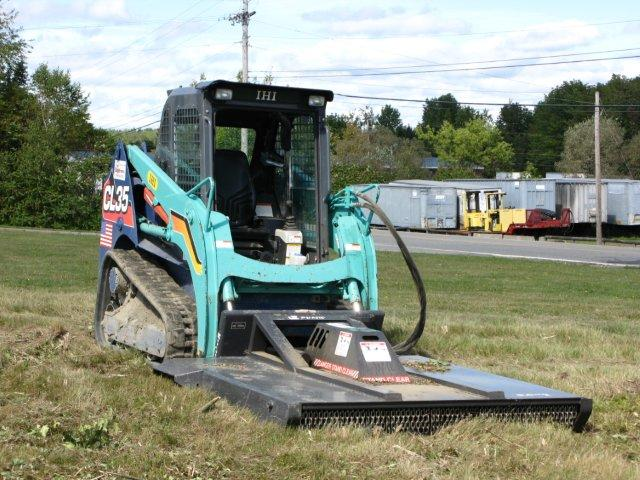 Skid Steer Bush Hog Attachment - 6' - Eagle Rental