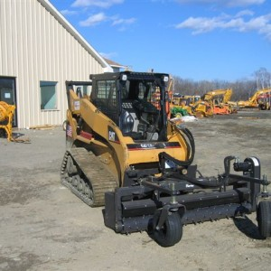 Skid Steer Harley Rake Attachment