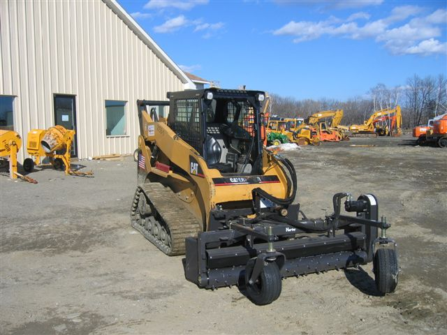 skid steer harley rake attachment categories rentals skid steers price