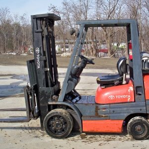6,000 lb Forklift - Solid Tire - Propane - $7,200