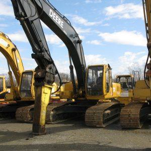 Excavator - JD270 - 65,000 lbs - w/ 6,000 lb Hydraulic Hammer