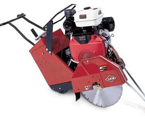 "Floor Saw - 20"" - Self-Propelled Propane"