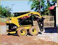 Skid Steer - 6,200 lbs - w/ 500 lb Hydraulic Hammer