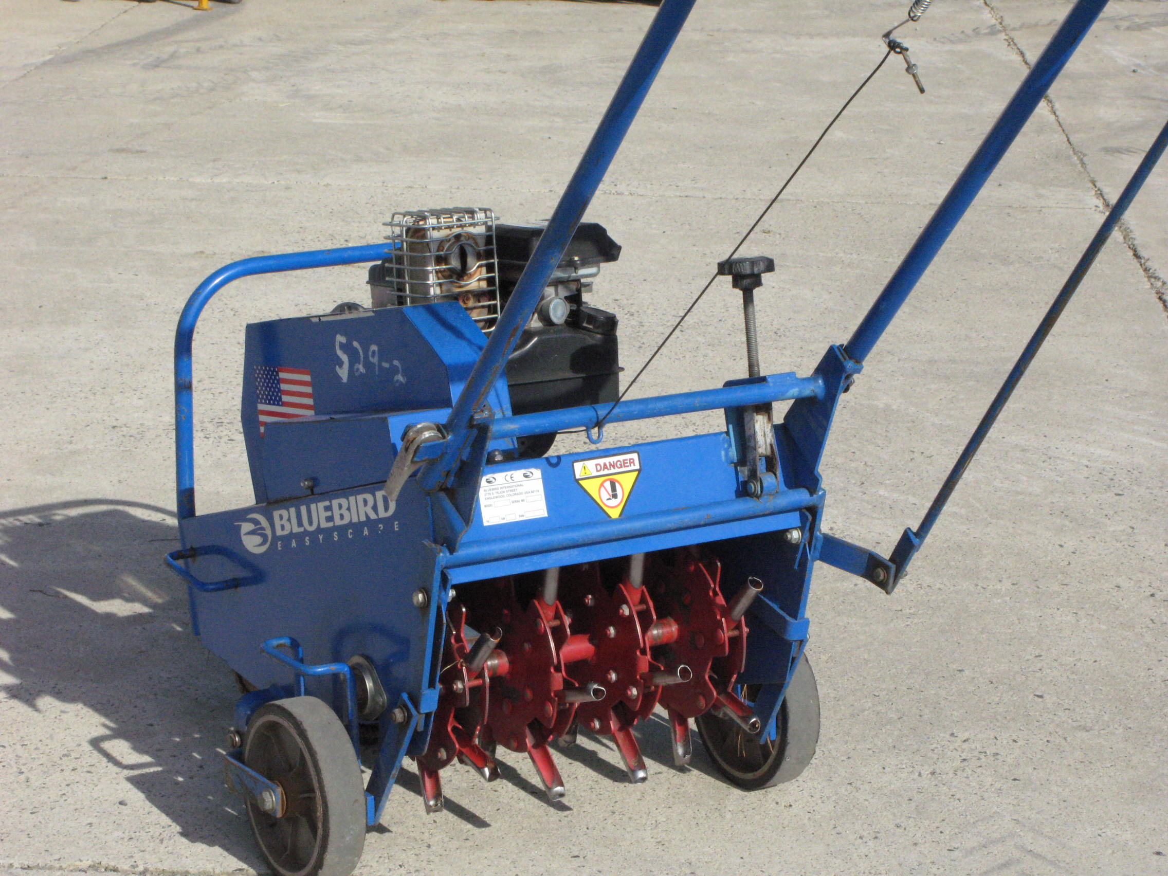 Lawn aerator powered eagle rental commercial for Lawn and garden tools for sale