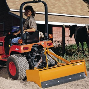Grade Box Attachment for Tractor - 5'