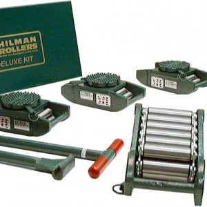 Equipment-Moving Roller - (Set of 4) - 15 Ton