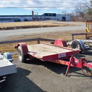 Single Axle - 4,000 lb (Tilt Trailer)