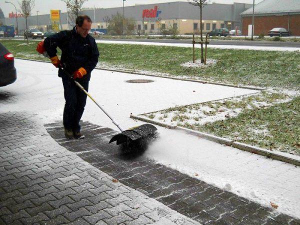 Paddle Broom Sweeper