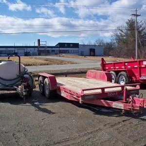 Two Axle Tilt Equipment Trailer