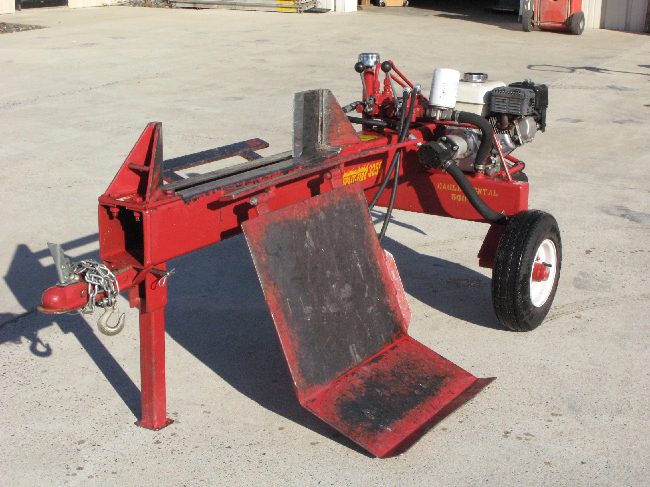 Wood Splitter With Lift : Woodsplitter hydraulic w lift kit eagle rental