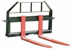 Front End Loader Fork Attachment for 1 1/2 Yard Loader
